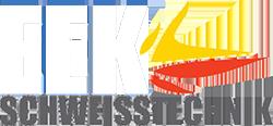 Eek Schweißtechnik – Ihr Spezialist für ausgeschlagene Passung Logo